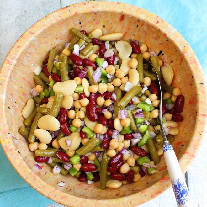 4 bean salad sq