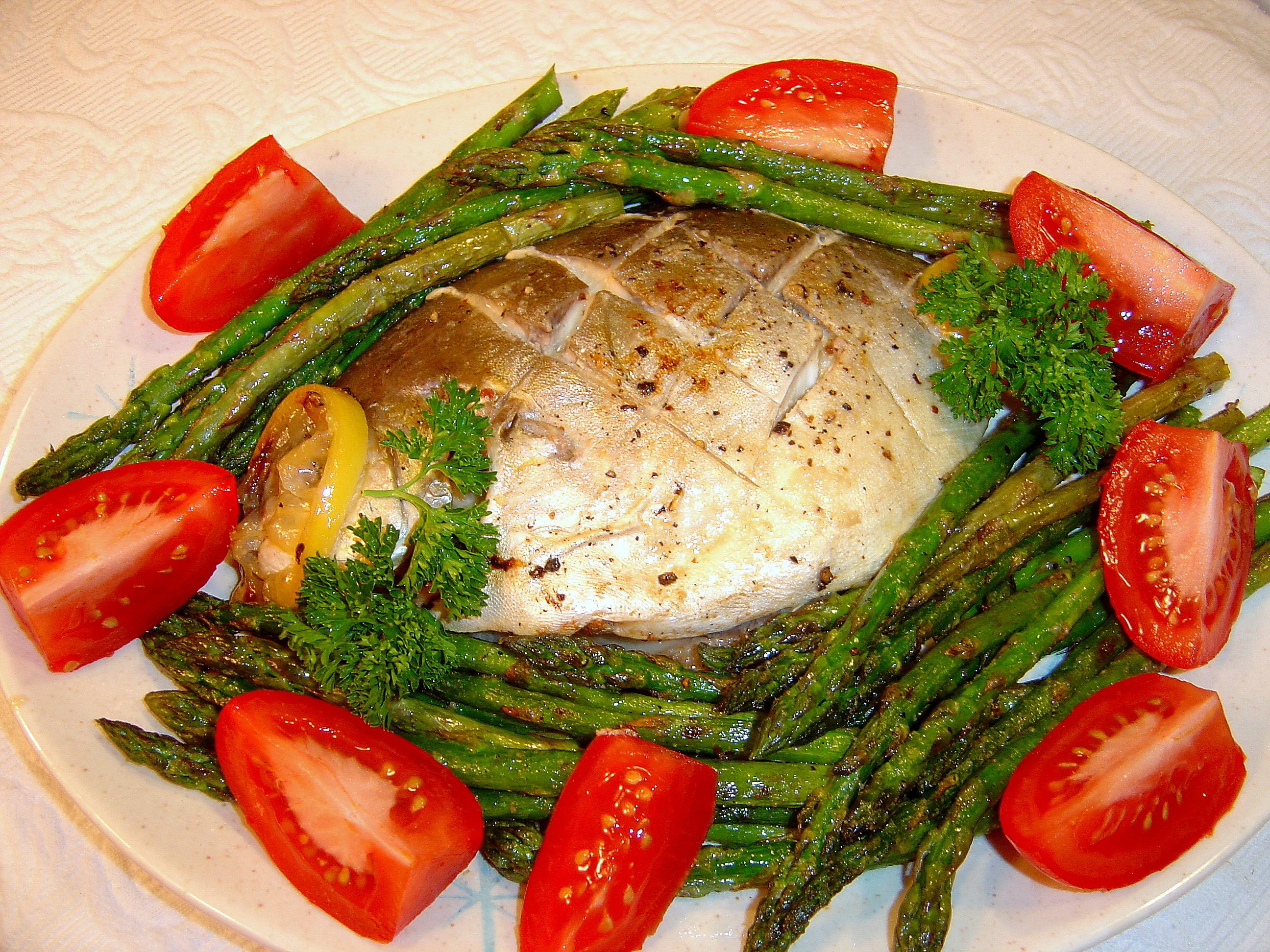 Grilled florida pompano for Fish as food
