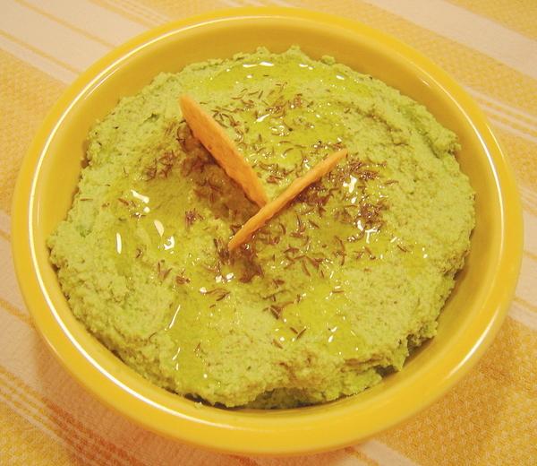 Edamame Hummus | A Palatable Pastime