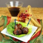 Holiday Meatballs (AKA Grape JellyMeatballs)