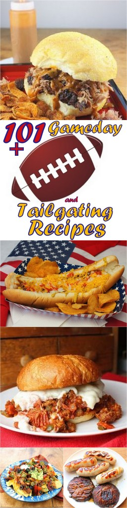 101+ Gameday and Tailgating Recipes