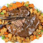 TDF Crockpot Roast (Minus all thatSalt!)