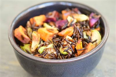 Vegetable Wild Rice
