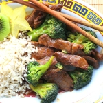 Beef with Broccoli#SundaySupper