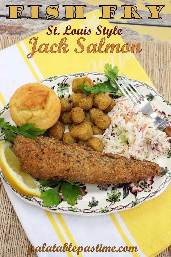 St Louis Style Jack Salmon