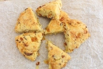 Scones with Apricot, Ginger and Brie #BreadBakers