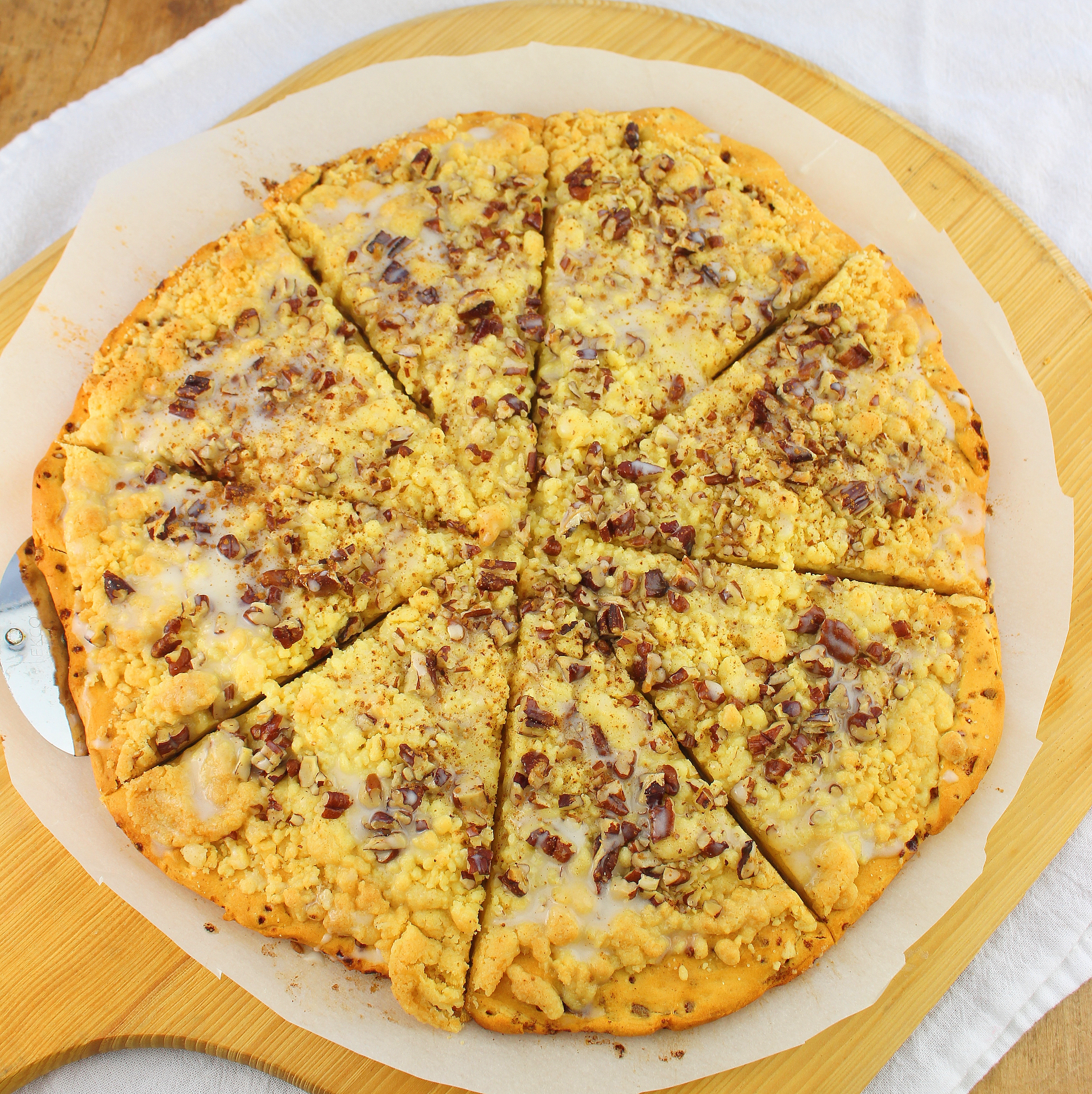 Cinnamon Roll Pizza #BrunchWeek #GiveAway «