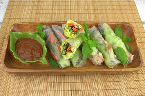 how to make hoisin sauce for rice paper rolls