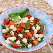 Bocconcini Caprese - Tomato Mozzarella Salad