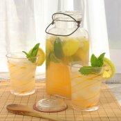 Cantaloupe Mint Lemonade