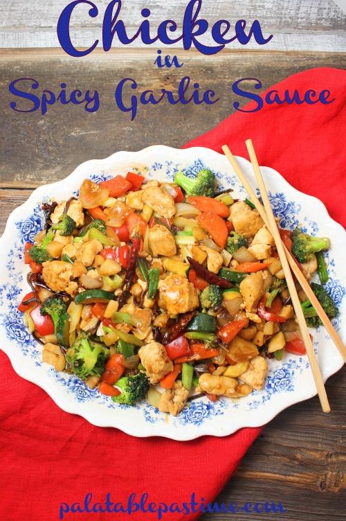 Chicken in Spicy Garlic Sauce