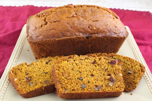 Old-Fashioned Pumpkin Bread